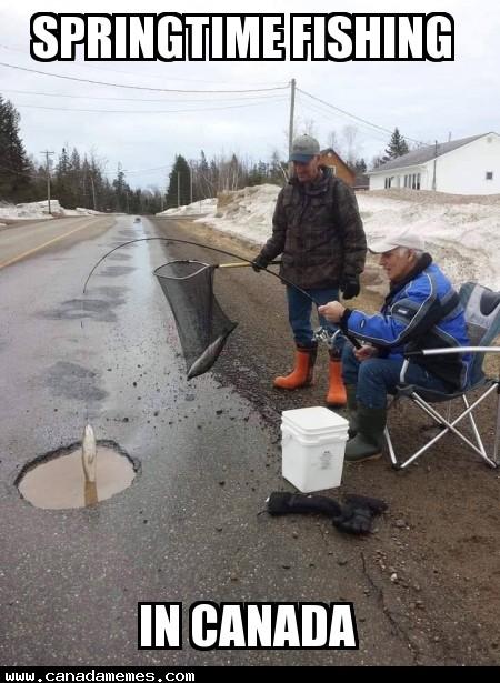 🇨🇦 Springtime fishing in Canada