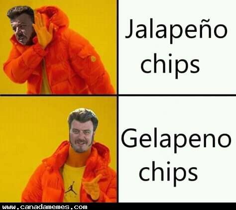 🇨🇦 Gelapeno chips