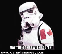 🇨🇦 May the 4th be with you, eh!