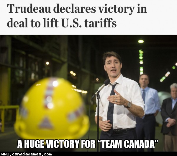 """🇨🇦 A huge victory for """"Team Canada"""""""