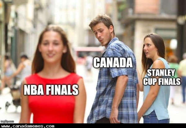 🇨🇦 And just like that, we all become basketball fans