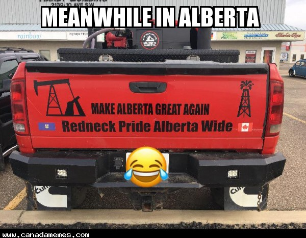 🇨🇦 Meanwhile in Alberta.....