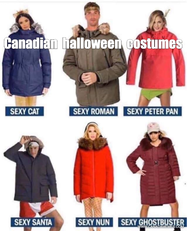 Canadian halloween costumes