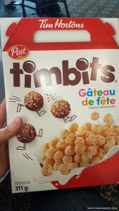 OMG Tim Hortons is bringing out a Timbits Cereal!