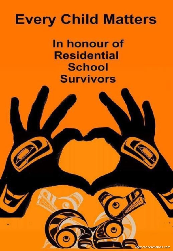 🇨🇦 Every Child Matters. In honour of Residential School Survivors