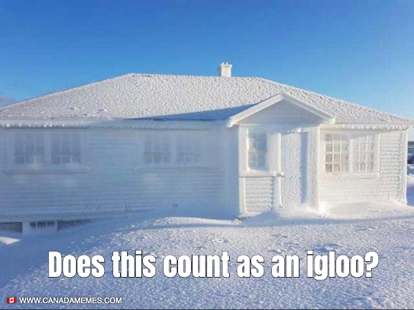Does this count as an igloo?