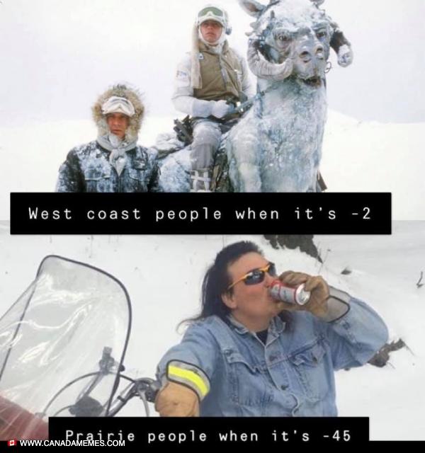 West Coast vs Prairies