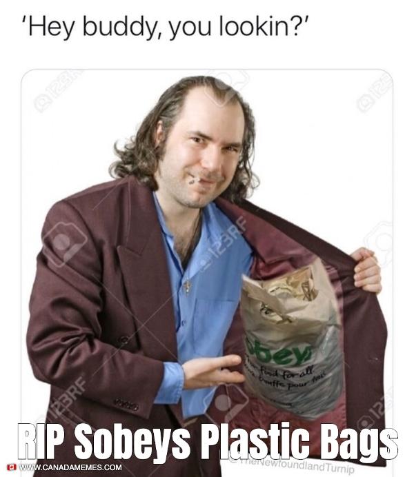 RIP Sobeys Plastic Bags