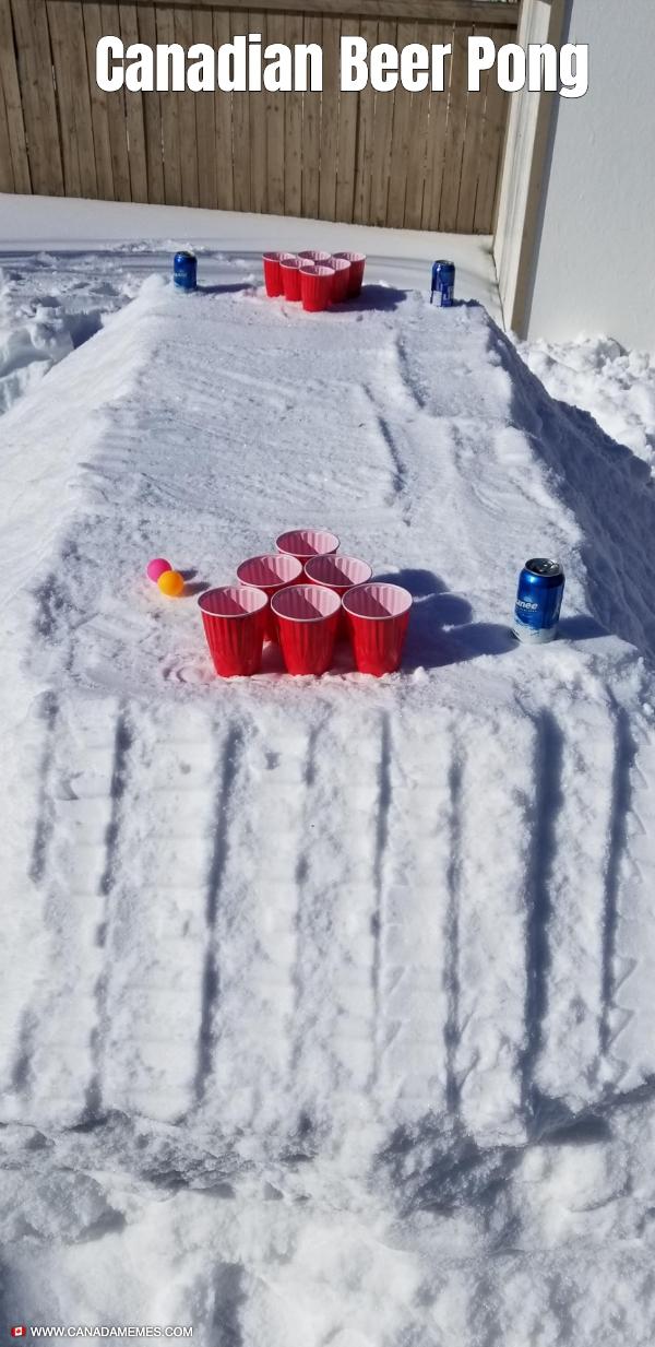 Canadian Beer Pong