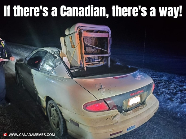 If there's a Canadian, there's a way!