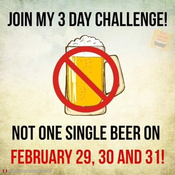 Challenge accepted.  Who's with me?