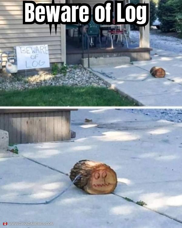 Beware of Log