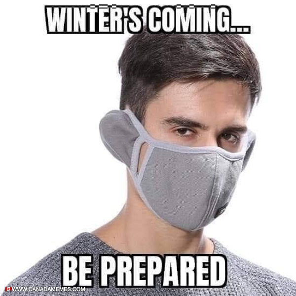 Winter is coming...Be Prepared