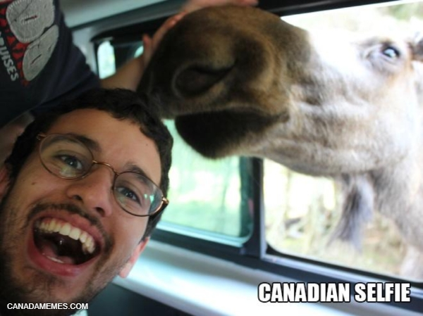 Canadian Selfie