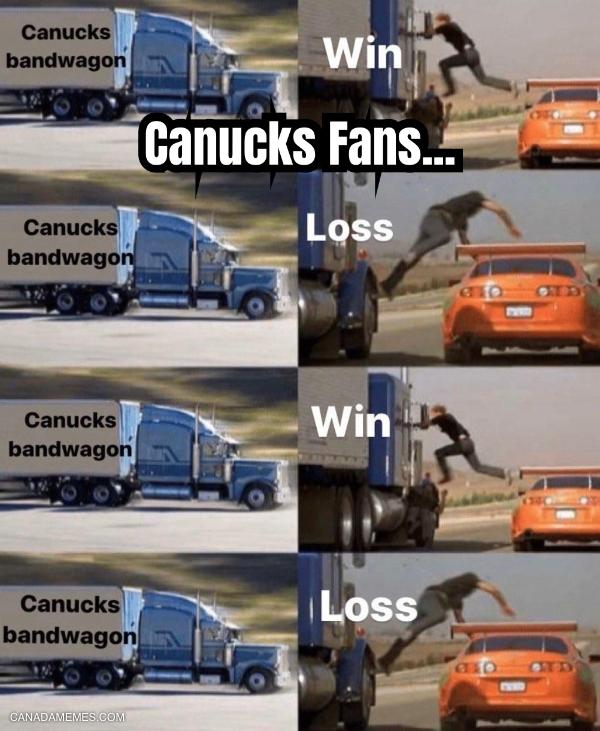 Canucks Fans