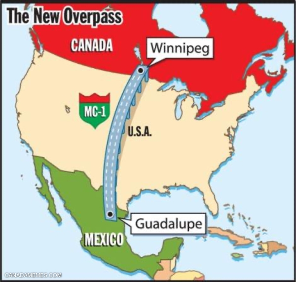 Mexi-Canadian Overpass