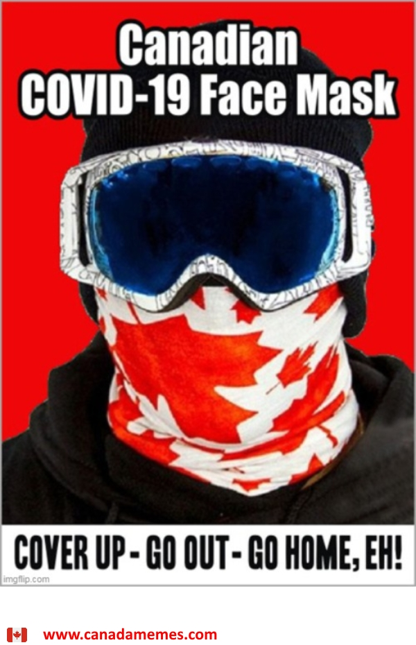 Canadian COVID-19 Face Mask