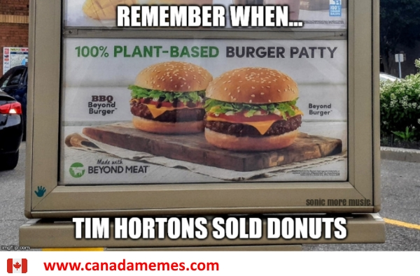 Remember when Tims just sold Donuts?