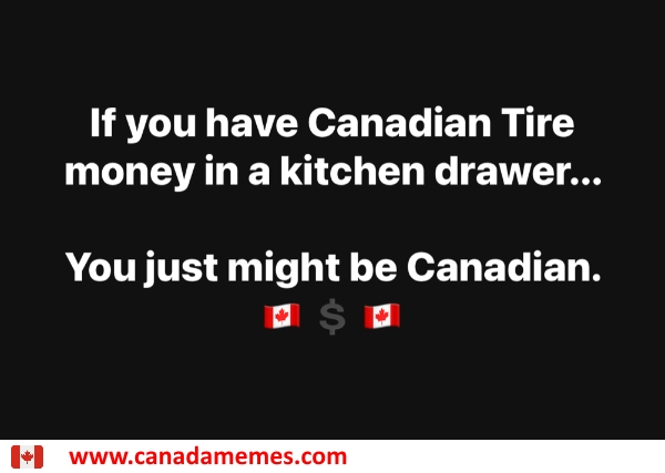 In every kitchen of every house in Canada