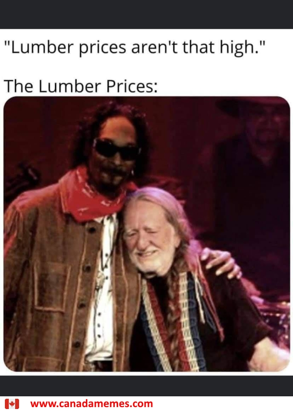 Lumber prices are high. How high?