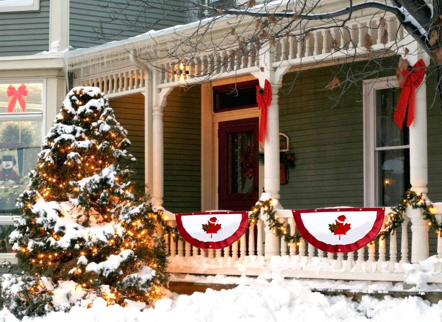 Cp Launches Christmas In Canada Bunting During Fall Sale