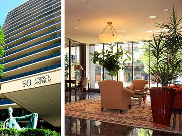 50 Prince Arthur Avenue Luxury Apartment Als Toronto Ontario
