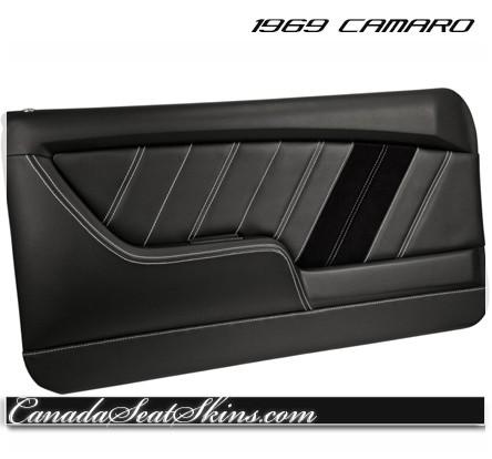 1969 Camaro TMI Molded Door Panels Sport Series