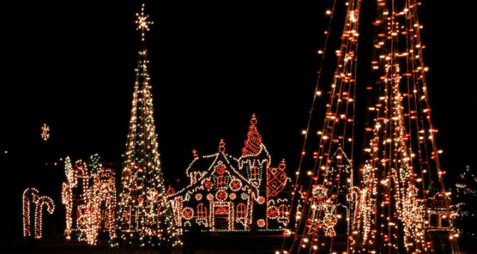 Christmas in Airdrie, Alberta