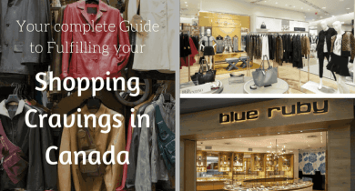 Shopping Cravings in Canada