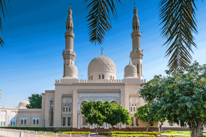 Jumeirah Mosque, Dubai, United Arab Emirates