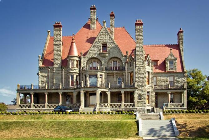 Craigdarroch Castle in Victoria, British Columbia