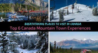 Canada Mountain Town