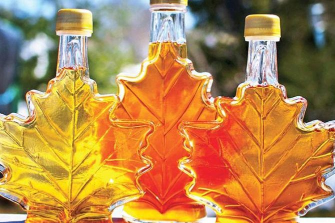Canada's maple syrup