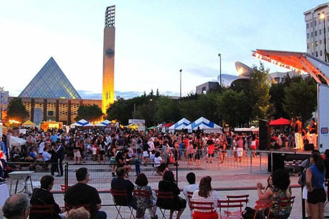 Latin Festival, Edmonton, Canada