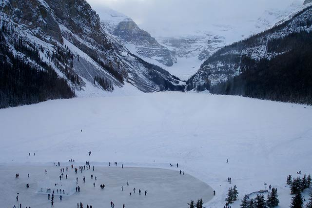 ice castles in alberta