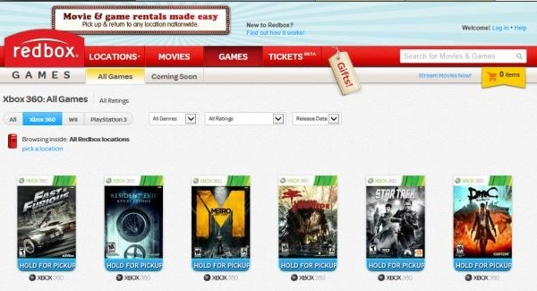 Redbox launches website to comment on rental ban of Xbox One games