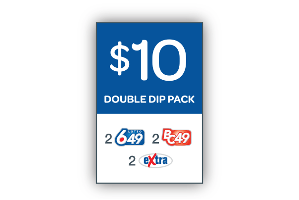 $10 Double Dip Pack