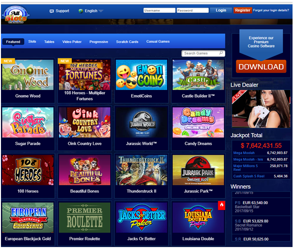 All slots casino-Games