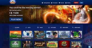 All slots casino Canada $1500 welcome bonus