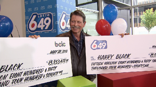 Winning Canadian Lottery