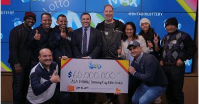 Canada lottery winners