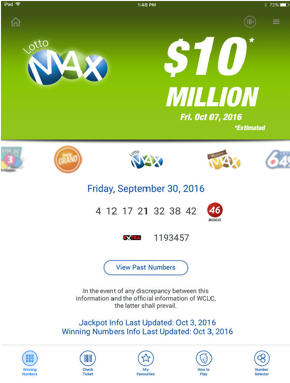 Lottery Online Canada