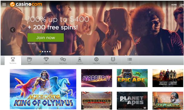 Casino.com Canadian casino