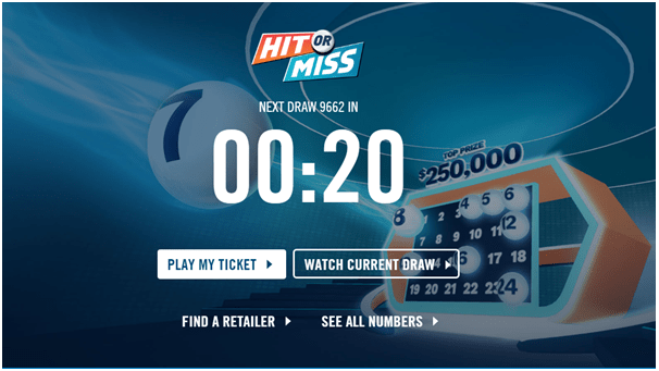 Hit or Miss- OLG lottery