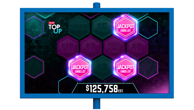 How much is Instant Top Up Jackpot