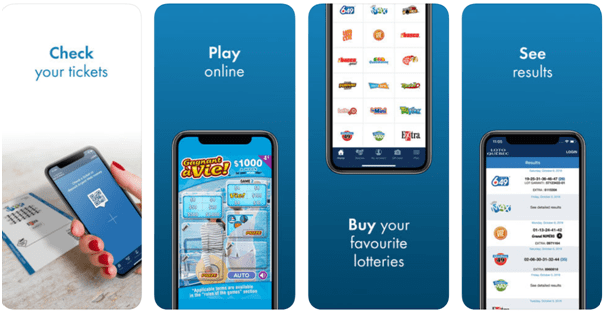 Lotto Quebec app