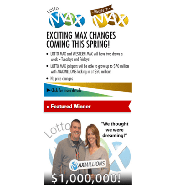 Lotto Max lottery winner