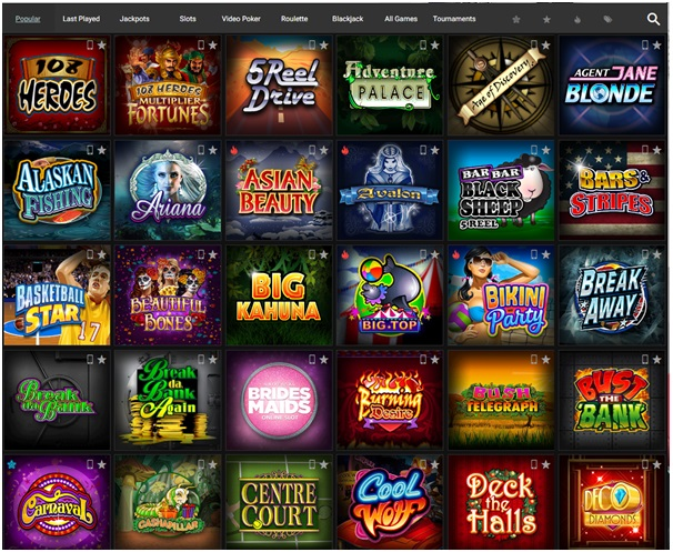 Platinum Play- online casino- Games