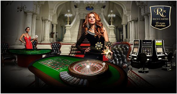 Rich Casino- Deposits