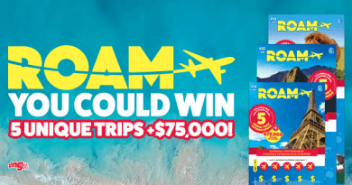 How to play Roam Lotto and win five unique trips plus CA $75,000?